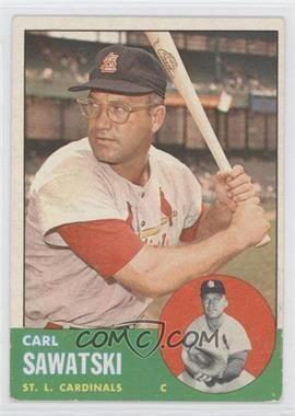 Carl Sawatski 1963 Topps Base 267 Carl Sawatski Good to VGEX COMC Card