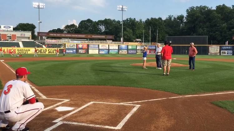 Carl Scheib Gratz native Carl Scheib throws out the first pitch YouTube