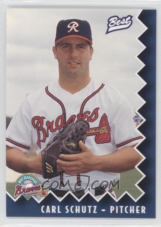 Carl Schutz 1997 Best Richmond Braves Base 22 Carl Schutz COMC Card