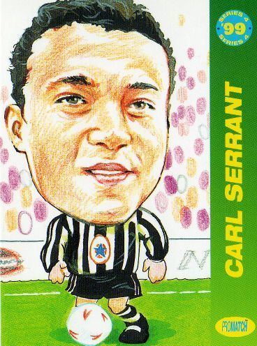 Carl Serrant wwwsportsworldcardscomekmpsshopssportsworldi