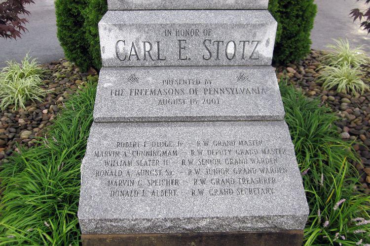 Carl Stotz Carl Stotz Statue The Ratzenberger Attic