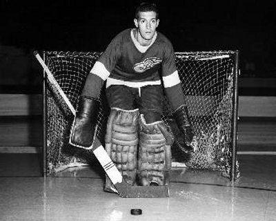 Carl Wetzel Detroit Red Wings goaltending history Carl Wetzel