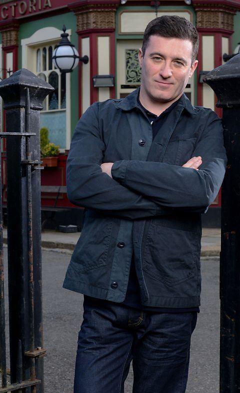 Carl White BBC One EastEnders Carl White