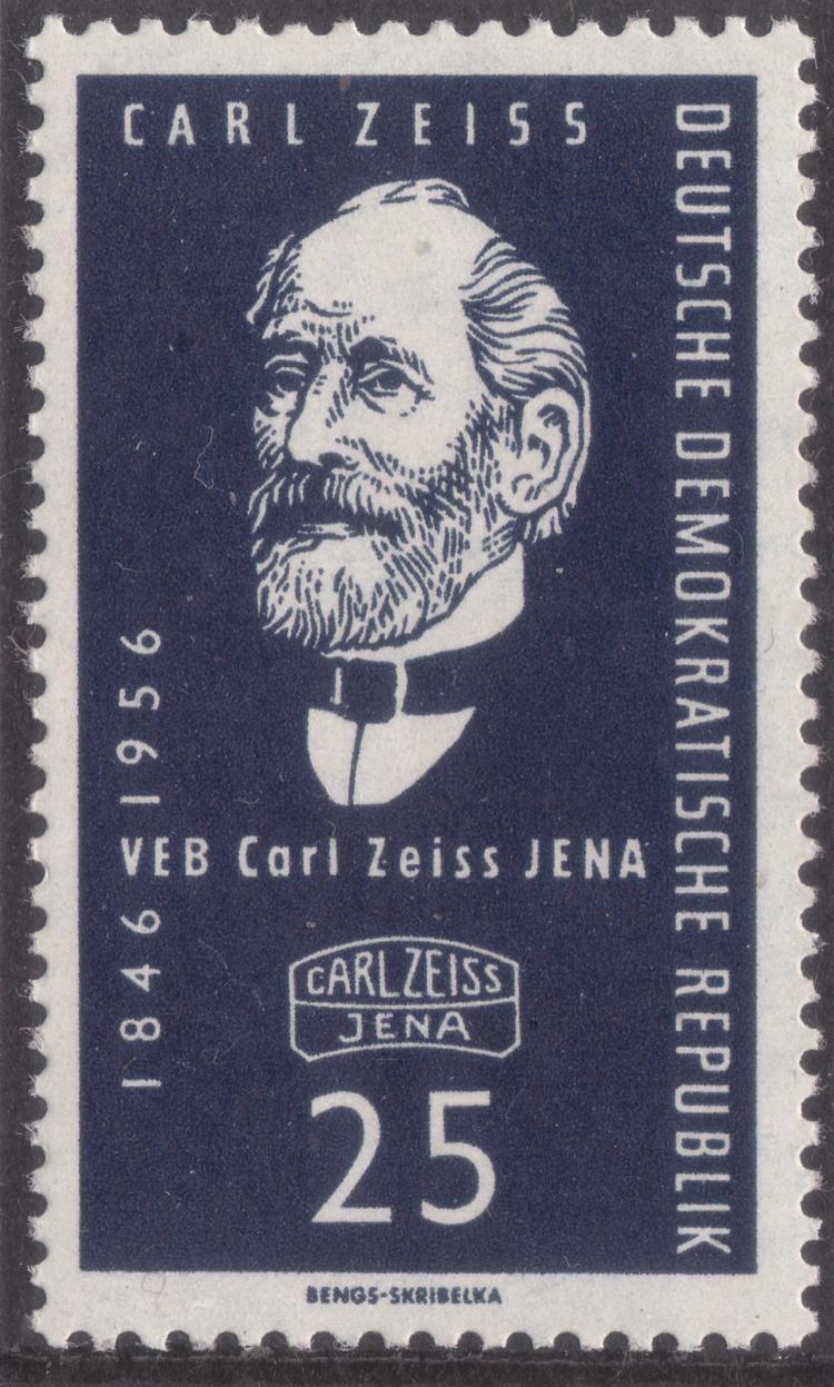 Carl Zeiss FileGDRstamp Carl Zeiss Jena 25 1956 Mi 547JPG Wikimedia Commons