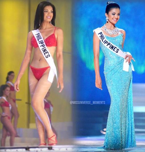 Carla Balingit Carla Gay Balingit Miss Universe Philippines 2003 Pageanthology101