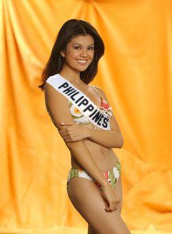 Carla Balingit Carla Balingit Miss Universe Philippines 2003 Miss Universe sash