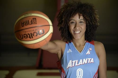 Carla Cortijo Carla Cortijo embraces role as WNBAs only Puerto Ricanborn player