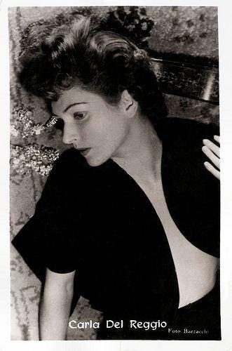 Carla Del Poggio European Film Star Postcards Carla Del Poggio