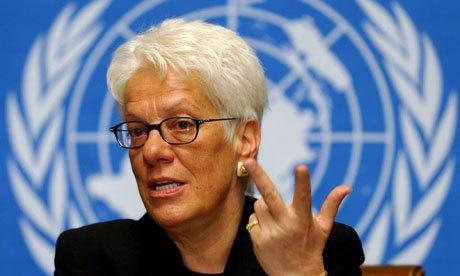 Carla Del Ponte Carla Del Ponte investigated over illegal evidence Law