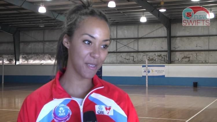 Carla Dziwoki Your 2014 NSW Swifts Carla Dziwoki YouTube