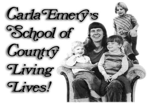 Carla Emery Carla Emery39s School of Country Living Lives Nature