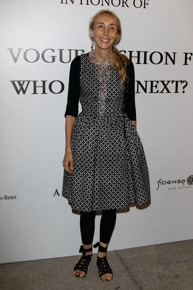 Carla Sozzani Carla Sozzani Pictures The Vogue Fashion Fund Who Is On