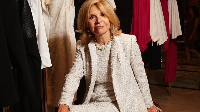 Carla Zampatti Australian Fashion Designer Carla Zampatti Absolute Fashion