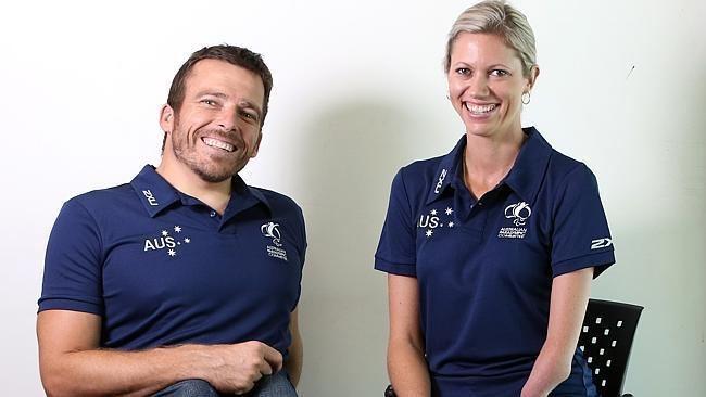 Carlee Beattie Aussies Kurt Fearnley and Carlee Beattie preparing for Rio