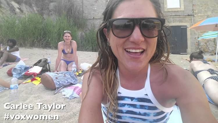 Carlee Taylor Carlee Taylors Vox Diary from the beach YouTube