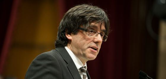 Carles Puigdemont Catalan politics Carles Puigdemont voted in as new Catalan premier