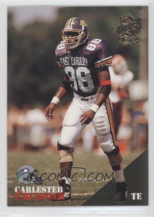 Carlester Crumpler 1994 Classic NFL Draft Base Gold 10 Carlester Crumpler