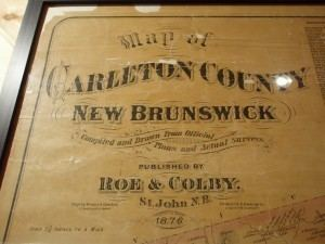 Carleton County, New Brunswick wwwluxegencawpcontentuploads2009121876map