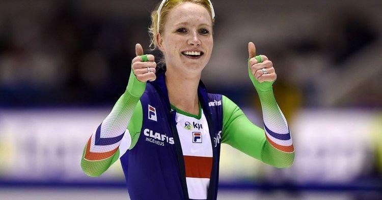 Carlijn Achtereekte Debutante Achtereekte pakt zilver op 5000 meter Schaatsennl