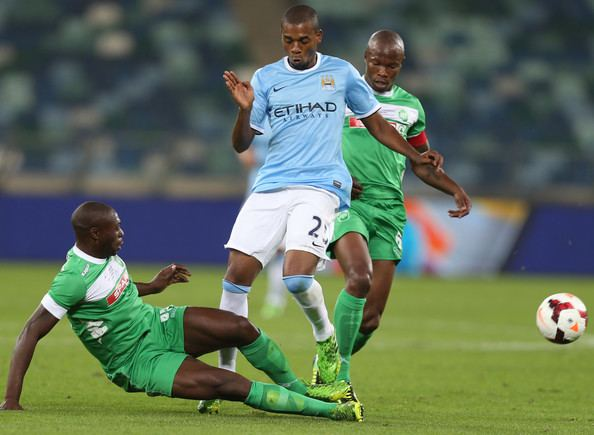 Carlington Nyadombo Carlington Nyadombo Pictures AmaZulu v Manchester City