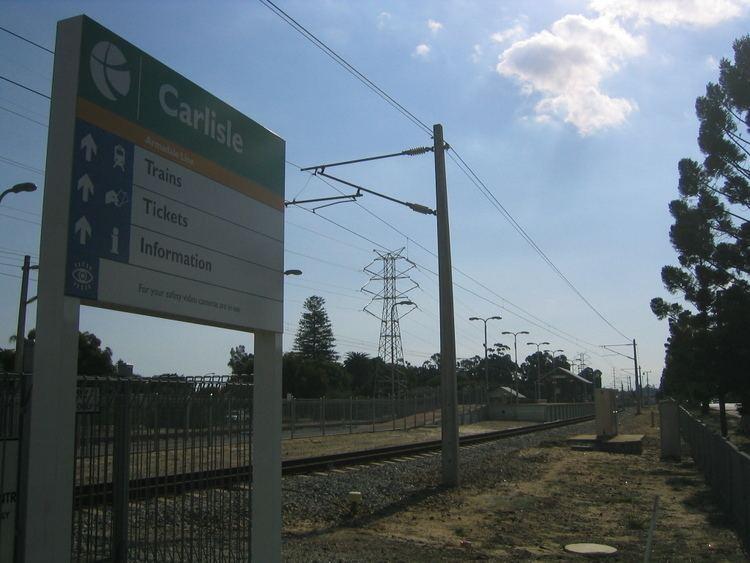 Carlisle railway station, Perth