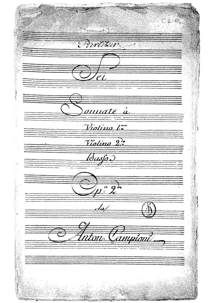 Image result for Carlo Antonio Campioni Composer