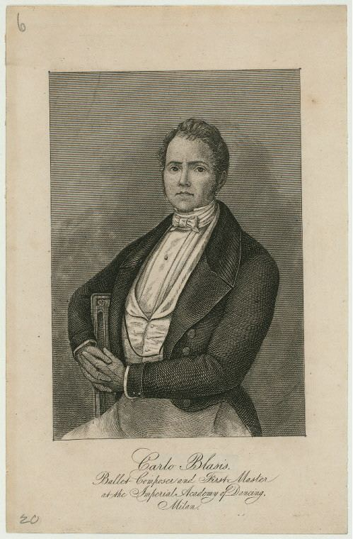 Carlo Blasis Carlo Blasis NYPL Digital Collections