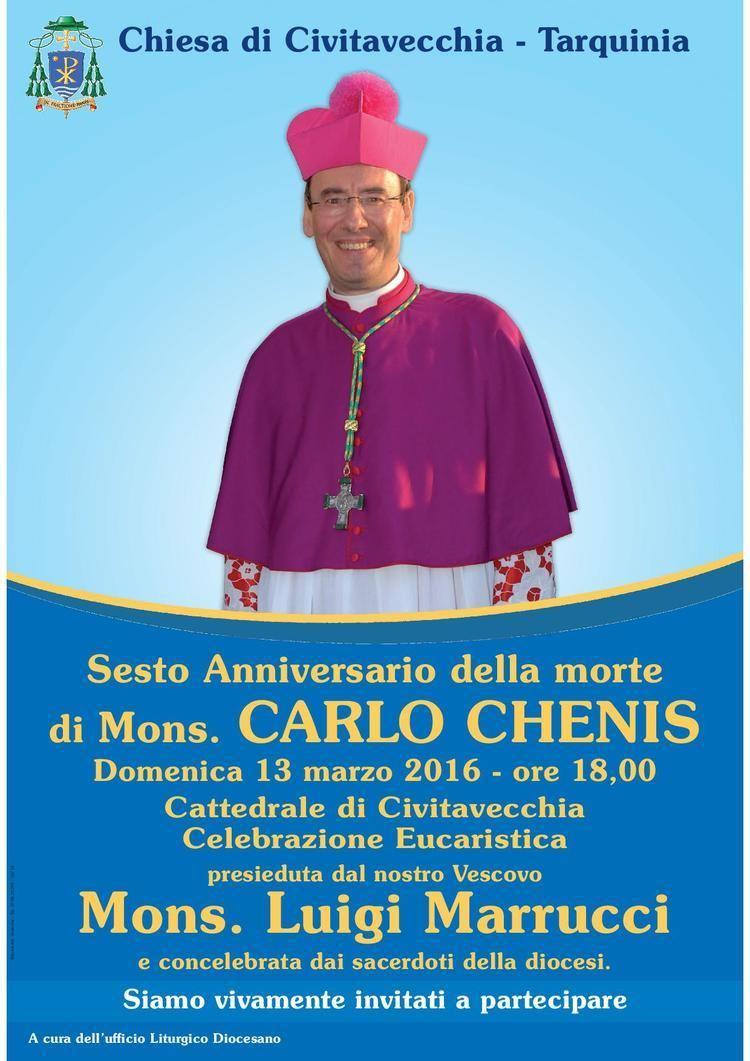 Carlo Chenis Diocesi di Civitavecchia Il ricordo del vescovo Carlo Chenis