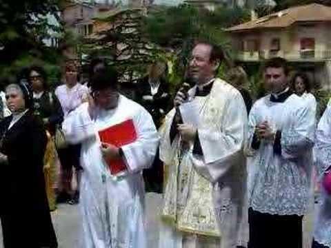 Carlo Chenis Tarquinia il vescovo Carlo Chenis YouTube