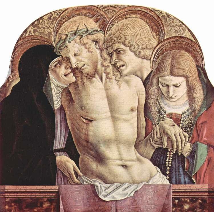 Carlo Crivelli Lamentation of Christ Carlo Crivelli WikiArtorg