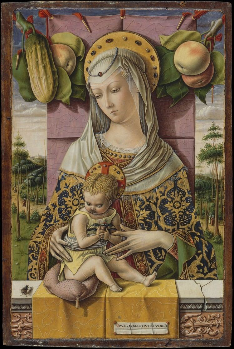 Carlo Crivelli Carlo Crivelli Madonna and Child The Metropolitan