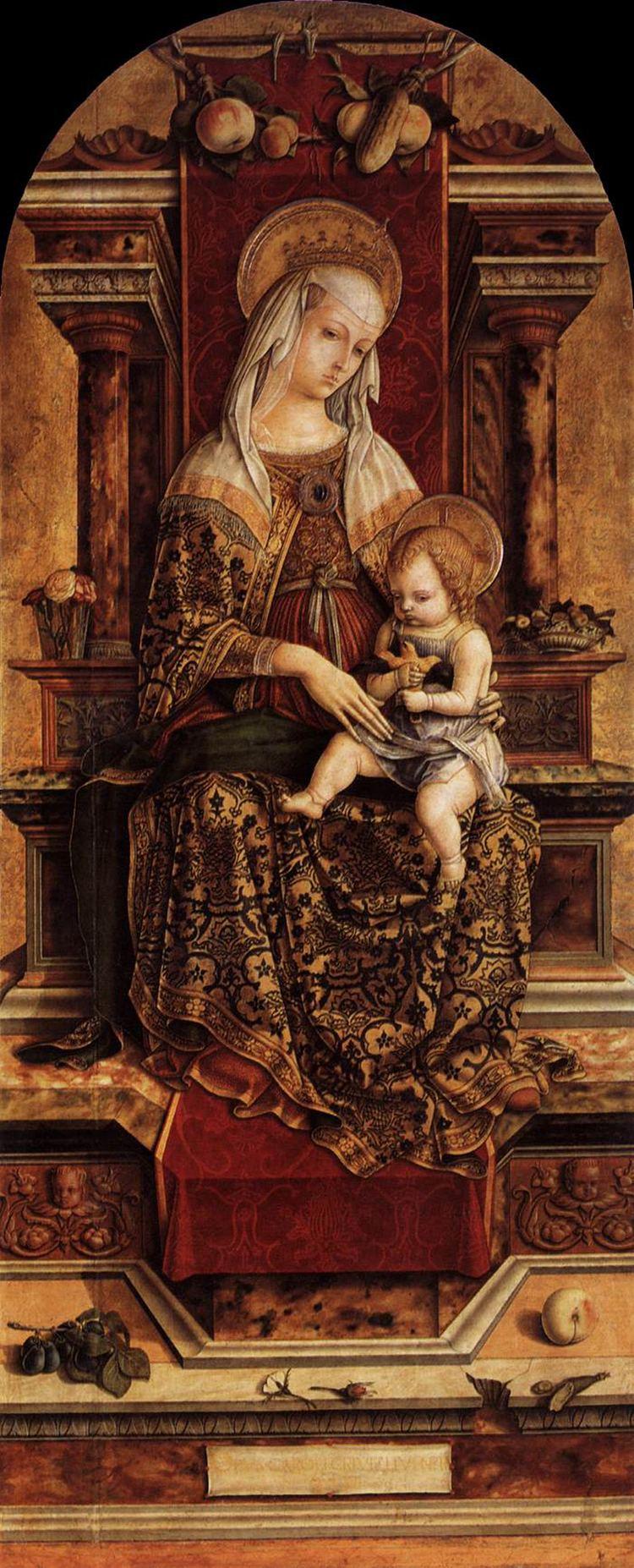 Carlo Crivelli Virgin and Child Crivelli Carlo Gallery Web gallery