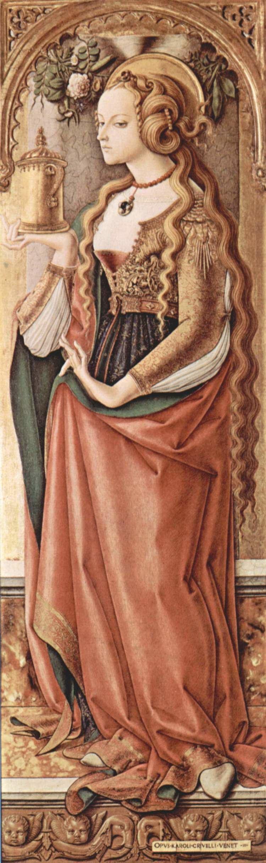 Carlo Crivelli Mary Magdalene Carlo Crivelli WikiArtorg