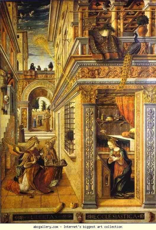 Carlo Crivelli Carlo Crivelli Annunciation with St Emidius Olga39s Gallery