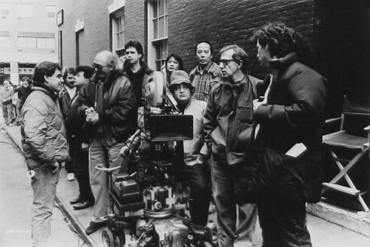 Carlo Di Palma Woody Allen with cinematographer Carlo Di Palma directin Flickr