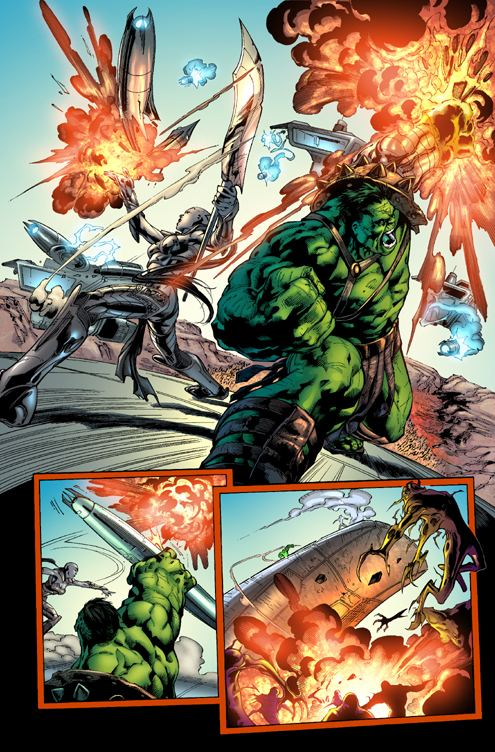 Carlo Pagulayan Carlo Pagulayan art from Incredible Hulk 101 Marvelcom