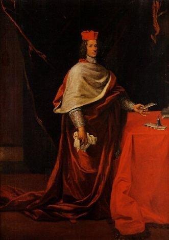Carlo Pio di Savoia Ritratto di Cardinale Carlo Pio di Savoia by Giovanni Battista