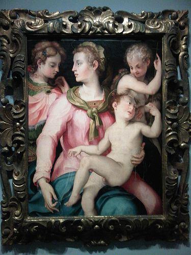 Carlo Portelli Carlo Portelli da Loro Virgin Child Infant John and