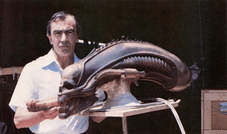 Carlo Rambaldi Alien Explorations Carlo Rambaldi39s Alien Head