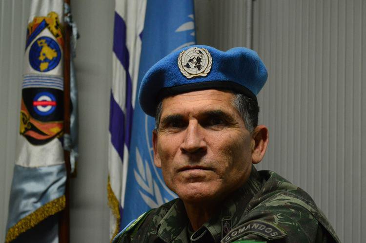 Carlos Alberto dos Santos Cruz Con Carlos Alberto dos Santos Cruz comandante de la