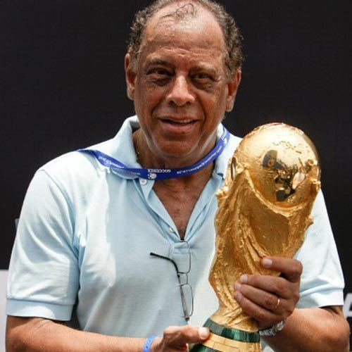 Carlos Alberto Torres Carlos Alberto Torres to accompany FIFA World Cup Trophy
