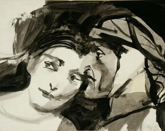 Carlos Alonso Othello y Desdemona 1969 Carlos Alonso WikiArtorg