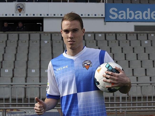 Carlos Clerc Presentaci de Carlos Clerc nou jugador del CE Sabadell