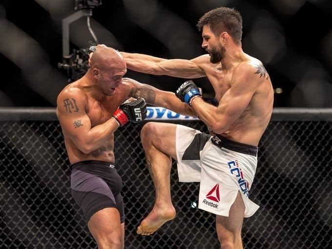 Carlos Condit Video Carlos Condit Blasts The Pads Teases UFC Return