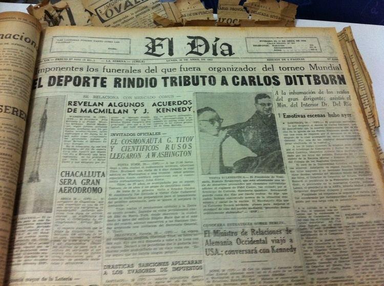Carlos Dittborn El Da 70 aos 70 Historias Muere Carlos Dittborn artfice del