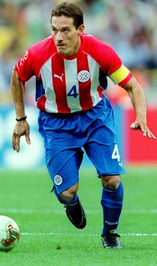 Carlos Gamarra Carlos Gamarra 8 Arte Pinterest Football icon Sport