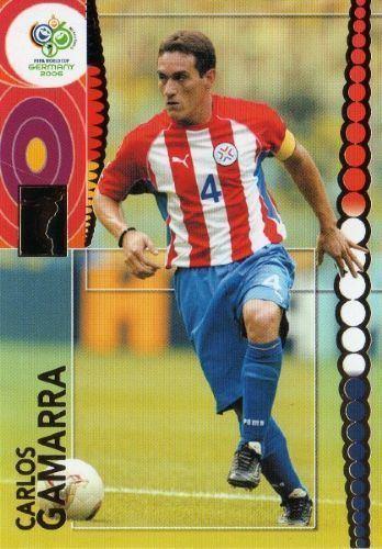 Carlos Gamarra PARAGUAY Carlos Gamarra 160 PANINI Fifa World Cup