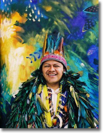 Carlos Jacanamijoy CARLOS JACANAMIJOY Galleria Silecchia Sarasota Florida