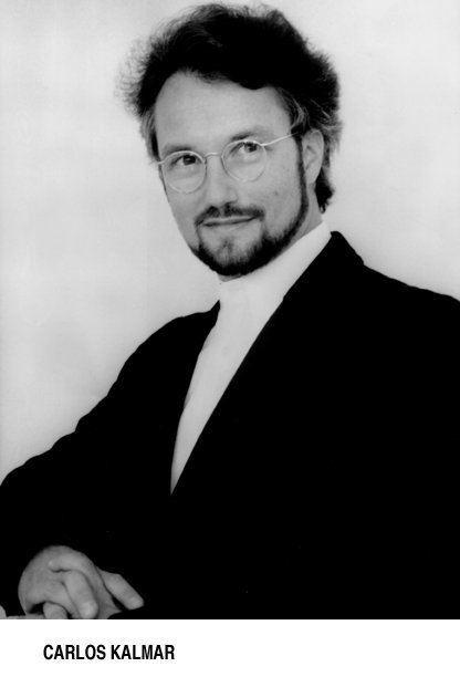 Carlos Kalmar Carlos Kalmar Conductor Short Biography