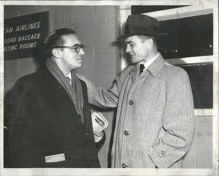 Carlos Lacerda 1955 Press Photo CARLOS LACERDA BRAZILIAN JOURNALIST POLITICIAN